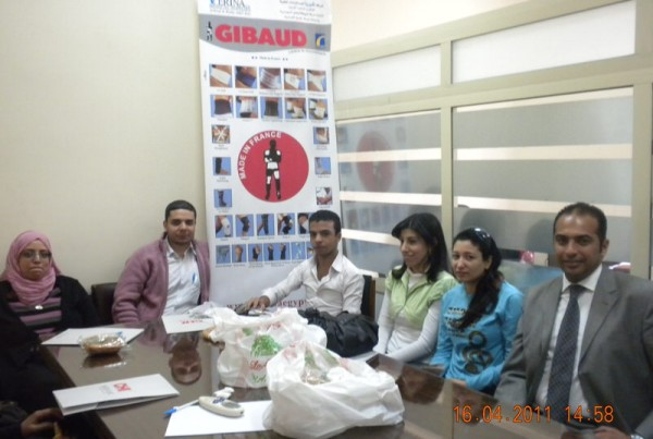 Gibaud Training Course for Egyptian Pharmacists with Gibaud  Representative 27
