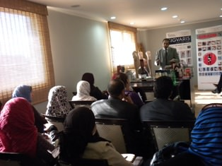 Sigvaris Training Course for Egyptian Pharmacists with Sigvaris Representative 23