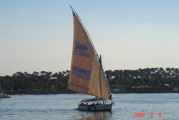 Verina & Sigvaris Sailing boat 16